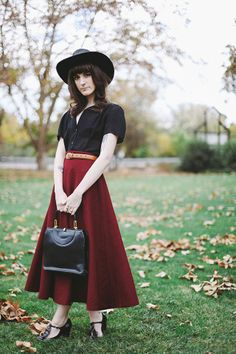 Colder days are coming | finchandfawn.com  Skirt c/o @OASAP
