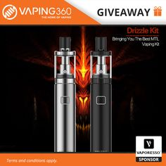 5 x Vaporesso Drizzle Kit Giveaway