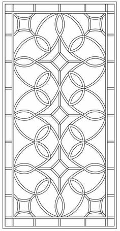 Tableaux® custom-designs and manufactures Decorative Grilles to your project specs. Stained Glass Designs, Stained Glass Panels, Stained Glass Patterns, Stencil Patterns, Pattern Art, Pattern Design, Mosaic Glass, Glass Art, Motif Arabesque