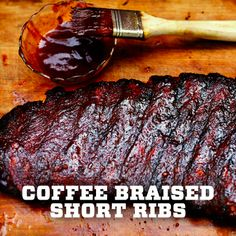 Our #coffee braised short ribs are perfect for game day- get the #recipe here! #marchmadness