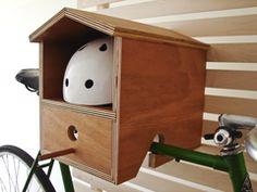 Bike Rack Birdhouse