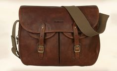 Fancy - Barbour Tarras Leather Messenger Bag | Gentleman's Gadgets | The Source of Inspiration for Modern Men