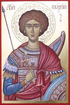 St George, orthodox icon, hand painted icons paint, buy byzantine icons, Russian icon, orthodox icon, icon art, orthodox gifts, iconography