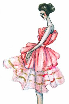 Dior Couture 2008 by Paper&Ink