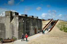 II. Dünya Savaşı'ndan kalan korugan, yanına inşa edilen yeni binayla TIRPITZ ismi verilen müzeye dönüştü.