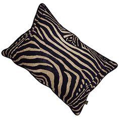 ScatterBox 40 x 60 cm Zebra Cushion, Black: Amazon.co.uk: Kitchen & Home