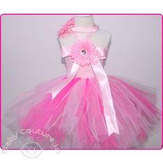 Strawberry & Creme Princess Tutu Dress #babytutudress