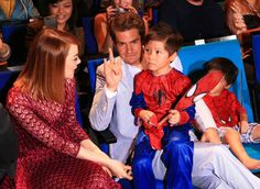 """""""And it was like they had a time spiderman family and it was TOO MUCH"""""""