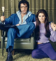 Star-struck: Elvis' wife Priscilla surprised Tom by asking for his autograph the first time they met