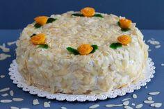 Mango-Maracuja Creme Torte Schichtdessert