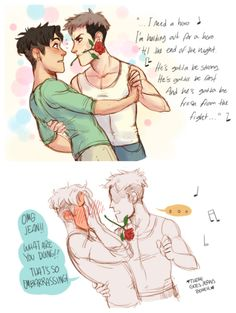 Attack on Titan Jean and Marco Ship~~~