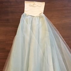 Fairy tulle prom dress ⭐️ Ralph Lauren two piece prom dress - vintage and in excellent condition - worn once super clean and size small ! Offers welcome  Ralph Lauren Dresses Prom