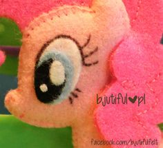pinkie pie my little pony - felt