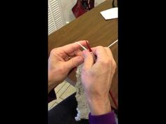 Continental Combined Knitting - knit, purl, stockinette