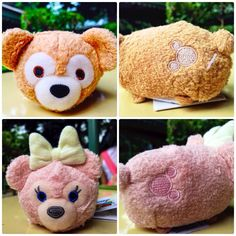 Duffy and Shellie May Disney Bear Tsum Tsum plushes!