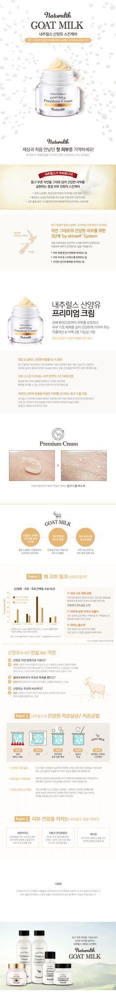 Tony Moly Naturalth Goal Milk Premium Cream | The Cutest Makeup