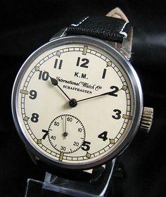 Iwc IWCのアンティークパイロット時計インヂュニアポートフィノ Watch Antique ¥97000yen 〆07月09日