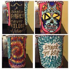 chug jug treat yo self painting