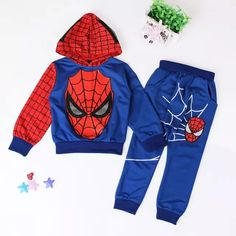 Spiderman Children Boys Sport Suit Years Kids Clothing Set Spider Man Baby Boys Clothes Set Spring Summer Tracksuits For Boy Spiderman Hoodie, Sport Outfits, Boy Outfits, Sports Tracksuits, Kids Clothes Boys, Children Clothing, Kids Boys, Baby Kids, Costume