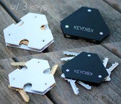 KeyDisk™- The World's Thinnest, Most Intelligent Key Holder by KeyDisk Co. — Kickstarter