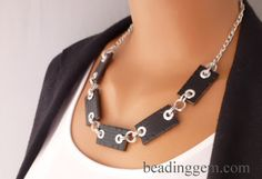 How to Make Recycled Jewelry from a Leather Belt - The Beading Gem's Journal