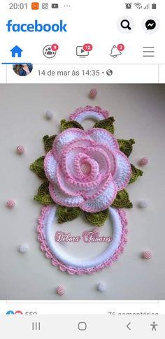 Crochet Mouse, Crochet Art, Filet Crochet, Cute Crochet, Beading Patterns Free, Crochet Flower Patterns, Crochet Designs, Crochet Flowers, Crochet Towel Topper