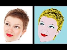 Gimp Tutorial - Effetto Andy Warhol - Andy Warhol Effect Pop Art, Gimp Tutorial, Andy Warhol, Art Education, The Help, Photoshop, Simile, Video, Creative Ideas