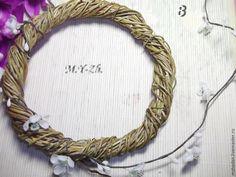 Интерьерный венок своими руками - Ярмарка Мастеров - ручная работа, handmade Beaded Jewellery, Grapevine Wreath, Grape Vines, Wreaths, Beads, Decor, Beading, Decoration, Vineyard Vines