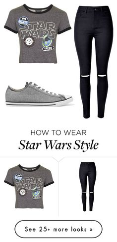 """""""Untitled #108"""" by prissysala on Polyvore featuring WithChic, Topshop and Converse"""