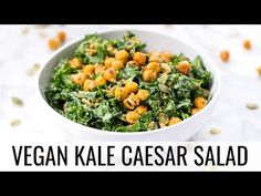 Vegan Kale Caesar Salad Recipe - Simply Quinoa