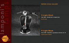 Una lámpara especial y exclusiva para los amantes de las dos ruedas y la exclusividad,  922 75 84 27  www.grupochmc.es http://www.facebook.com/integral.fachadascubiertas