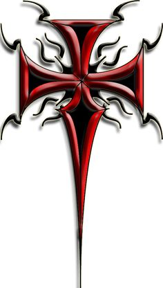 Tribal Cross Tattoo 2 By Blakewise On DeviantART kind of like this one too  not sold on it. f33a6407de