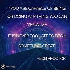 ''Use your imagination to go INTO the future, and bring the future back into the present. Focus on entering into the spirit of the person you want to become - then take action!'' - Bob Proctor