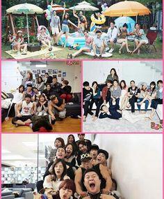 Roommates from season 1 & 2.. Hope to have season 3.. #gayeon #parkbom #sora #dongwook #seho #nana #sohyun #mamashin #chanyeol #minwoo #kangjoon #youngji #gukjoo #joonhyung #ryohei #sunny #jongok #jackson #roommate