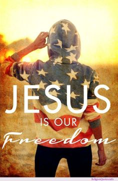 The source of our freedom is in Him