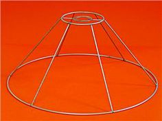 Wire Lampshade Frames Amazing Pinleah Bell On Lamps And Lampshades*  Pinterest  Wire Lamp Inspiration Design