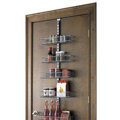 Platinum Elfa Door U0026 Wall Rack Solution...imagine All The Free Cabinet Space