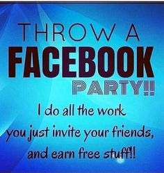 Ask me how to throw your party today....like my page Facebook.com/kayleighscentsy Visit my site...Kayleigh.scentsy.us to view catalog