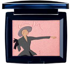 Use this pretty Dior palette for eye shadow & blush