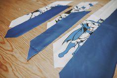 La Bat-Corbata. DIY Tutorial para crear una corbata des de 0.
