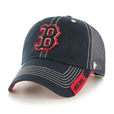 63f227707fc71 MLB Boston Red Sox Turner Clean Up Adjustable Hat