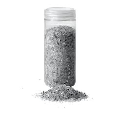 IKEA - KULÖRT, Decoration, crushed glass, The crushed glass reflects light and makes a nice glittery decoration in a bowl or vase.You can also make a beautiful arrangement by combining the crushed glass with candles on a candle dish.The jar with a screw lid is practical for storing the crushed glass when you're not using it for decoration.