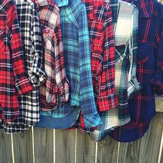We have plaid for days!  Snag one for every day of the week!  #fallfavorites #plaid #juneandbeyond #417 #fall #instafashion #getinmycloset