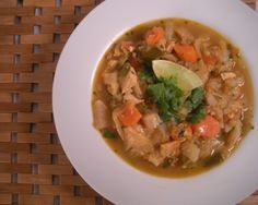 Caldo de Pollo (Mexican Chicken Soup) Gluten Free