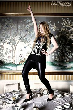Avril Lavigne for the Hollywood Reporter, January 2014