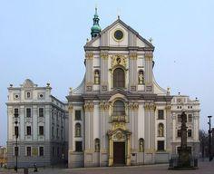 Opava (Troppau), Czech Silesia. Church of St. Adalbert