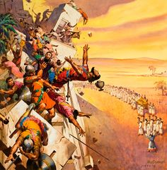 The Battle of Jericho is a battle in the biblical Book of Joshua, () the first battle of the Israelites during their conquest of Canaan. Description from imgarcade.com. I searched for this on bing.com/images