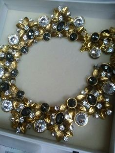 Stunning necklace all you need is a little black dress and your good to go. From Juliette-'s fashion jewellery stall.
