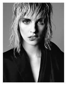 TOTALE ECLIPSE: JULIA FRAUCHE BY DAVID ROEMER FOR GRAZIA FRANCE 1ST MARCH 2013