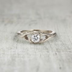 engagement page 1 olivia ewing jewelry - Nature Inspired Wedding Rings